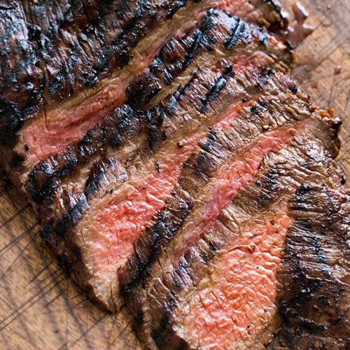bbq flank steak